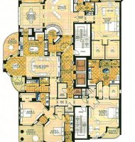 Astoria Penthouse Floor Plan