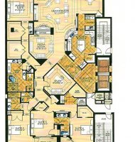 Bar Harbour Penthouse Floor Plan