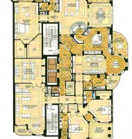 Drake Penthouse Floor Plan